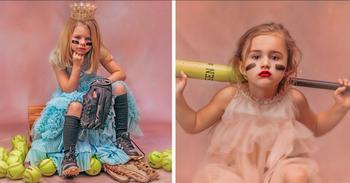 Принцессы в бутсах: мать из Алабамы сделала необычный фотопроект о девочках и праве их выбора