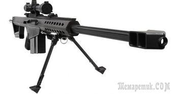 Крупнокалиберные снайперские винтовки M82 от компании Barrett Firearms