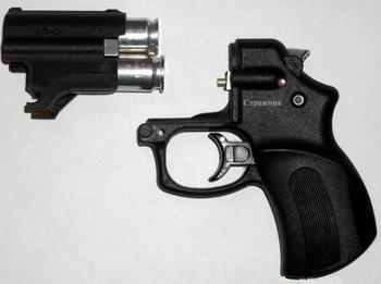 """Пистолет травматический """"Стражник"""" МР-461: обзор, характеристики и отзывы"""