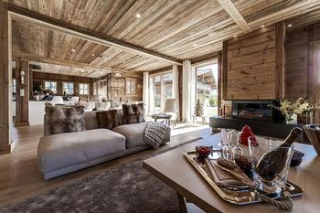 Уютное современное шале в Межеве, Франция