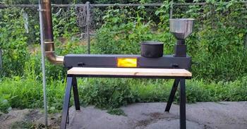 Печь для приготовления пищи на открытом воздухе