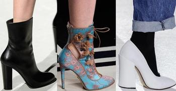 Модная обувь 2018: осень–зима