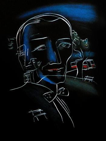 Иллюстрации к «Мастеру и Маргарите»:Г.А.В. Траугот