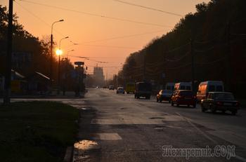 Прогулка осенним утром