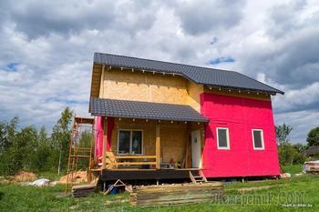 «В строительстве нет ничего запредельного»: белорус сам возводит каркасный дом и рассчитывает уложиться в $20 000