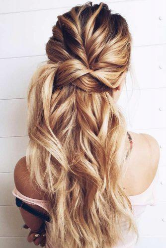 18 великолепных причесок а-ля «мальвинка» для длинных волос