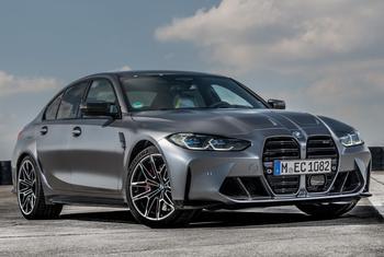 BMW M3 2022: перспективная модель спортивного седана