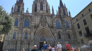 Барселона в июне. 2