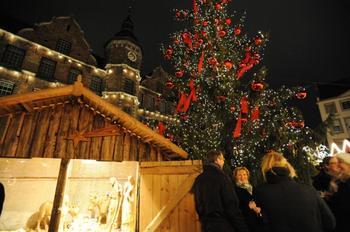 Как Дюссельдорф готовится к Рождеству