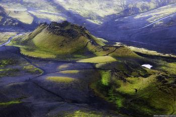 Остров Исландия: вулкан Лаки