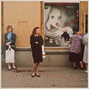 Московские витрины 1990 года