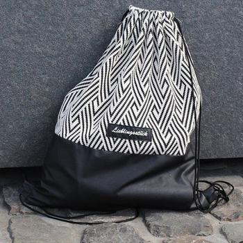 Рюкзак-мешок для сменной обуви своими руками