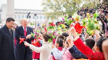 «Ядерный чемоданчик» Трампа вызвал потасовку во время его визита в КНР