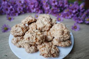 Забытое печенье без муки! Хрустящее, карамельно-кокосовое.