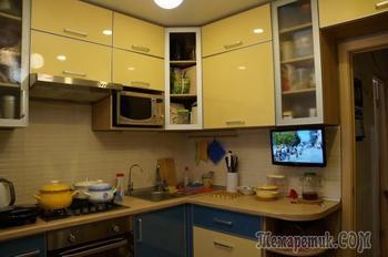 Ремонт однокомнатной квартиры от А до Я, 4 этап - Кухня
