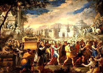 Что находилось в золотом ящике Ковчега Завета?