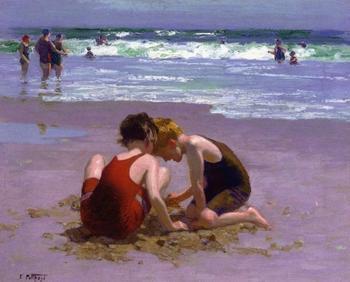 Американский импрессионист: Эдуард Генри Потхаст/Edward Henry Potthast