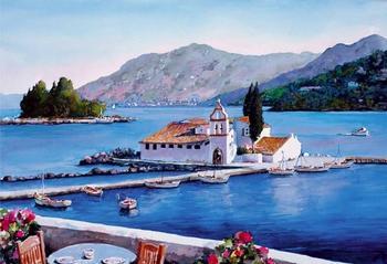 Буйство красок Греции в творчестве Пантелиса Зографоса (Pantelis Zografos)