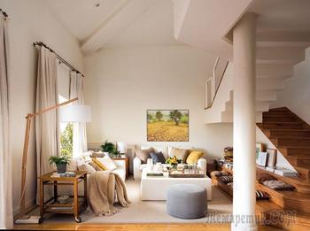 Дом дизайнера в Мадриде, в котором живет солнце