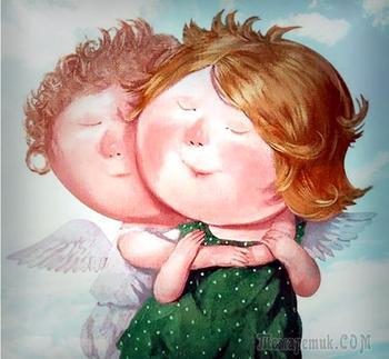 Ангел мой...