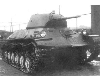 Лёгкий танк Т-126СП