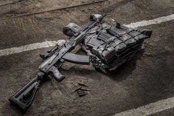 Партия модернизированных автоматов Калашникова АК-74М «Обвес» поступила в ЗВО