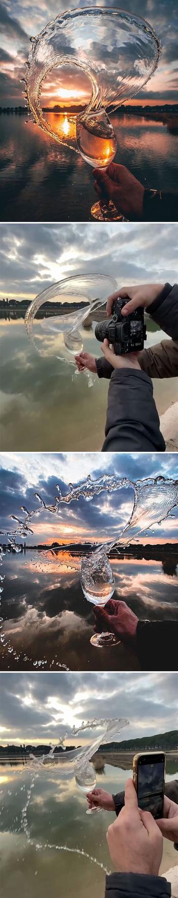 Фотограф использует креативные приёмы для создания своих потрясающих снимков