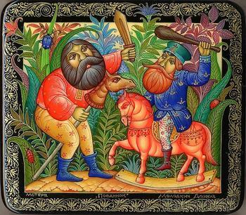 Удивительные сюжеты Даниила Молодкина из Мстёры
