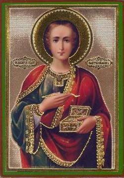 Иконография в лицах: святой Пантелеймон