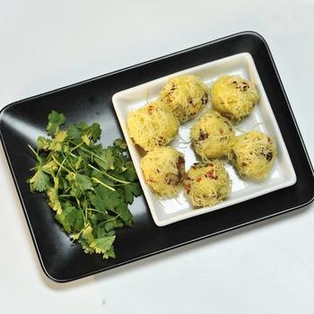 Картофельные ёжики в сыре
