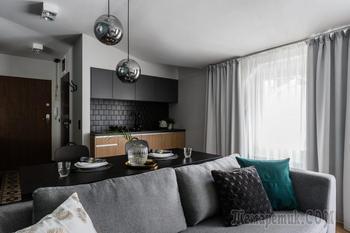 Стильный дизайн квартиры из Польши