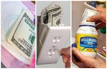 10 лайфхаков для хранения денег