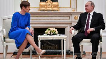 Поговорили по-соседски: глава Эстонии рассказала Путину о русских