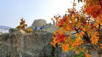 Осенняя экскурсия в Болгарии. 7. Святилище Орфея Татул ...и краски осени