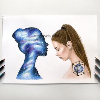 «Большинство наших проблем — только у нас в сознании»: глубокие рисунки, которые заставляют задуматься