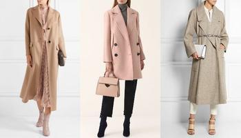 Шикарные осенние пальто в пастельных тонах