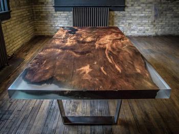Удивительные творения из дерева и эпоксидной смолы