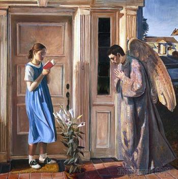 Благовещение на иконах и картинах – от века к веку