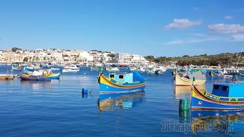 Мальта. 07. Марсашлокк – обитель пестрых лодок и рыбных ресторанов