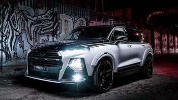 Кроссовер Hyundai Santa Fe прокачали в Carlex Design