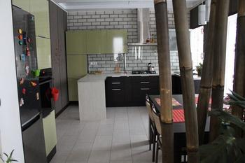 Кухня: бамбуковая ширма, японские панели