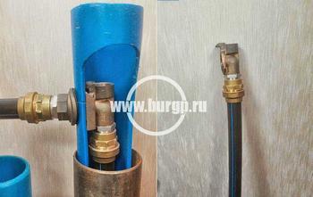 Скважинный адаптер для обустройства скважины на воду