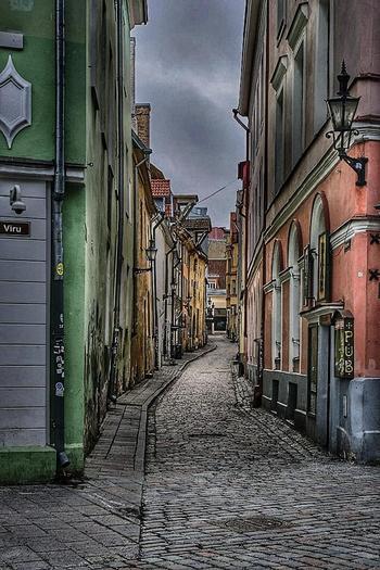 Таллинн без туристов