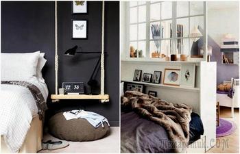 Как организовать комфорт вокруг спального места: 13 замечательных идей для спальни