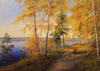 Владимир Куликов - душевные картины