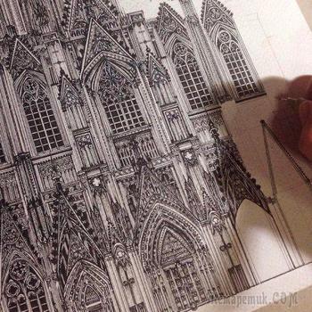 Архитектурные достопримечательности мира от Эми Накадзима
