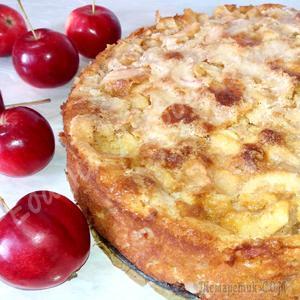 Самый Яблочный пирог. Легкий и необыкновенно вкусный!
