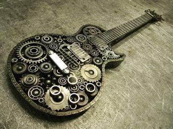 Удивительные вещи из металлолома от волгоградского мастера