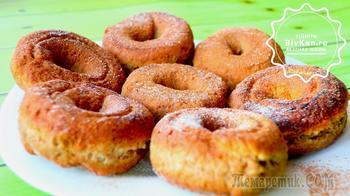 Пончики за 15 минут или бабушкины калачики