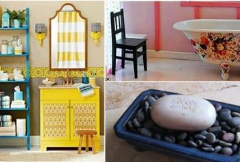 17 бюджетных идей, которые добавят шика в интерьер ванной комнаты